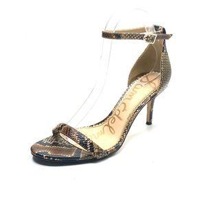 {Sam Edelman} Pattie Leather Sandals/Heels